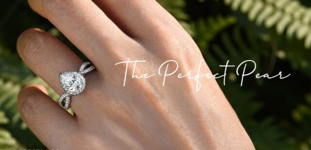 Beautiful Pear Shaped Engagement Ring Settings Under $1,800