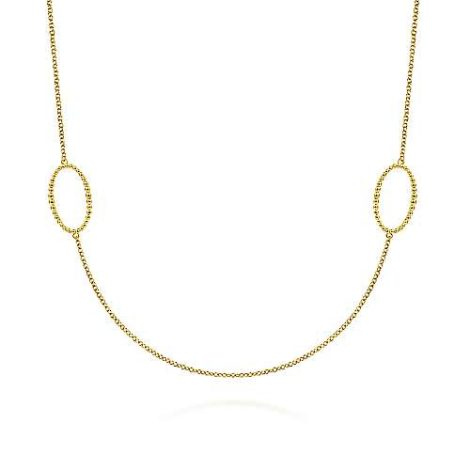 Gabriel-14K-Yellow-Gold-Bujukan-Beaded-Oval-Station-NecklaceNK6558Y4JJJ-1