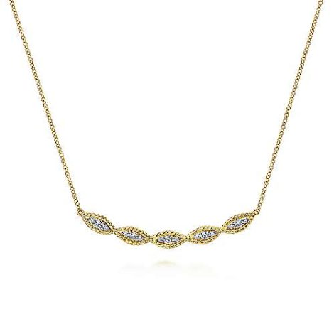 Gabriel-14K-Yellow-Gold-Twisted-Rope-Curved-Diamond-Bar-NecklaceNK6085Y45JJ-1