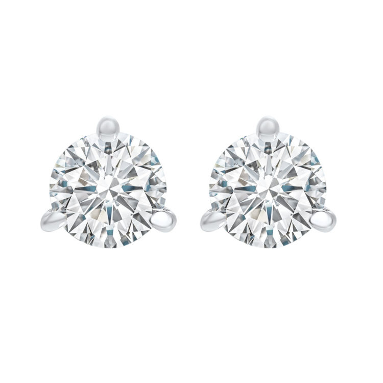 Natural Diamond Studs