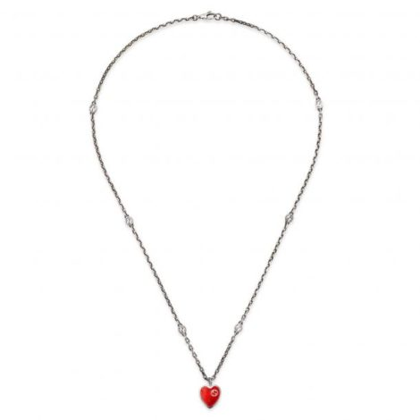 gucci_interlocking_g_red_enamel_heart_necklace